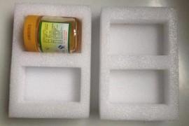 厂家定做 珍珠棉玻璃类制品内托包装 瓶子珍珠棉异形保护
